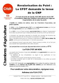 grille salaire chambre agriculture revalorisation du point la cfdt demande la tenue de la cnp apca rp