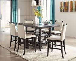 ashley furniture trishelle 7 piece dining room set d550 ebay