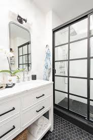 Bathroom In Black Pattern Texture 2017 Faces Of Design Hgtv