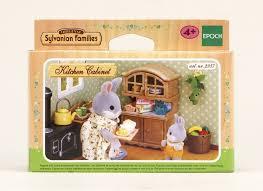 sylvanian family 2937 doll u0027s house kitchen cabinet amazon co uk