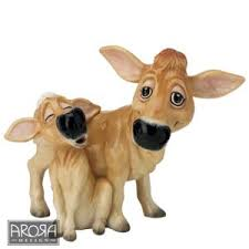 jersey cow ornament pets with personality jersey cow ornaments