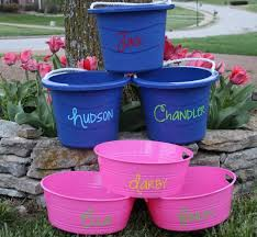 personalized buckets personalized buckets sweet as jelly