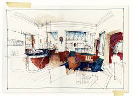perspective drawing drawing the interior u2013 jadineinteriordesign
