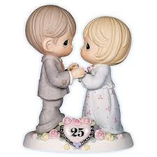 25th anniversary cake toppers precious moments our still sparkles in your 25th