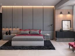 bedrooms green and grey bedroom swirl patterned feature wall a
