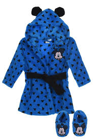robe de chambre bébé robe de chambre et chaussons bébé garçon mickey 24 99