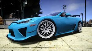 lexus lfa blue gta iv 2012 lexus lfa nurburgring edition crash testing youtube
