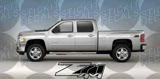 hunting truck decals z71 4 4 logo chevy silverado gmc sierra tahoe yukon suburban