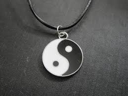 necklace leather cords images Yin yang leather cord necklace vamps jewelry gothic victorian jpg