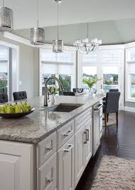 Dark Floors Light Cabinets Superb Abbyson Living In Kitchen Transitional With Santa Cecilia