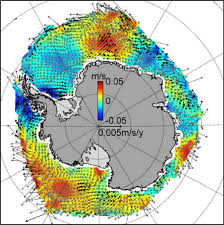 Wind Speed Map Winds Seen As Key Driver Of Antarctica U0027s Growing Sea Ice Climate