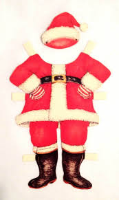 252 best santa 7 paper dolls and scraps images on pinterest