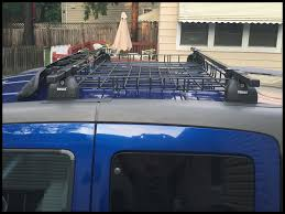2007 Honda Element Roof Rack by Mounting A Yakima Basketcase On A Thule Rack Honda Element
