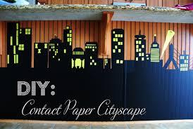 cityscape backdrop diy contact paper cityscape photo backdrop