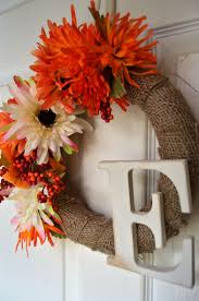easy fall wreath create and babble