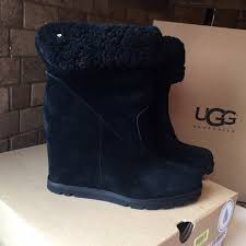 s genuine ugg boots 34 ugg shoes authentic ugg wedge kyra boots 9 5 from