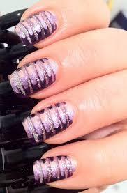fancy marble glitter and embossed nail art for trendy girls