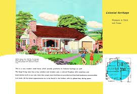 1950s Ranch House Plans Vintage House Plans 377 Antique Alter Ego Ranch Style Luxihome