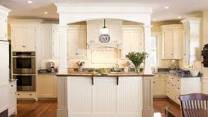kitchen islands with columns 9 unique kitchen columns photographs home living now 12686