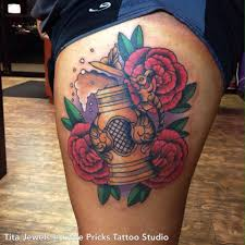 little tattoo studio awesome beer stien by tita jewels at