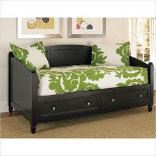 storage wood daybed in black daybed bedford town f c and storage