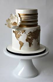 20 travel themed wedding cakes southbound