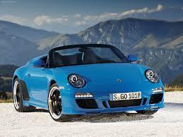 blue porsche convertible 3dtuning of porsche 911 speedster convertible 2011 3dtuning com