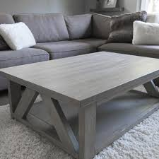 light grey coffee table find more solid wood coffee table stained in a warm light grey