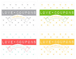 make your own love coupon notepad free download kiki u0026 company