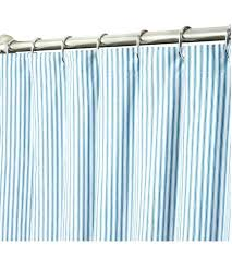Blue Ticking Curtains Teal Colored Shower Curtains Teawing Co