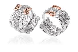 diamond earrings on sale am byth creole diamond earrings sale clogau gold