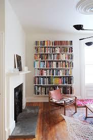 Best  Living Room Bookshelves Ideas On Pinterest Small Living - Wall decoration for living room