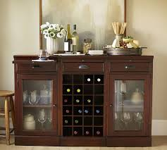 Buffet Bar Cabinet Modular Bar Buffet With 2 Glass Door Bases 1 Wine Grid Base
