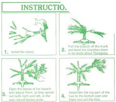 artificial tree assembly rainforest