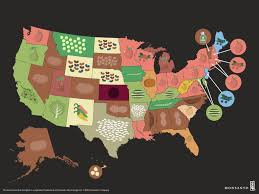 Midwest United States Map by Crop Map Who Grows What In The U S Monsanto