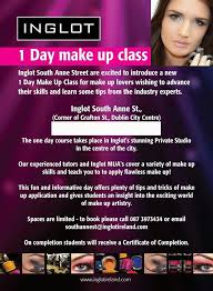 make up course my time the inglot advance makeup course blanchardstown