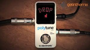 polytune 2 manual tc electronic polytune mini guitar tuner pedal youtube