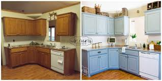 Gel Stain Kitchen Cabinets Before After Painting Oak Kitchen Cabinets Before And After Pretentious Design