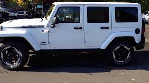 dodge jeep white 2014 jeep wrangler polar edition youtube