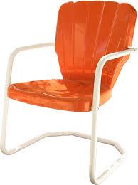 Red Metal Chair Thunderbird Metal Lawn Chair Thunderbird