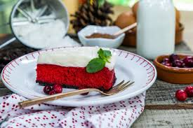 recipe red velvet cheesecake home u0026 family hallmark channel
