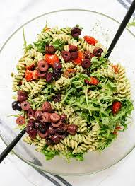 Simple Pasta Salad Recipe Pesto Pasta Salad Recipe Cookie And Kate