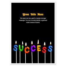 E Card Designer Success Candles Invitations U0026 Cards On Pingg Com