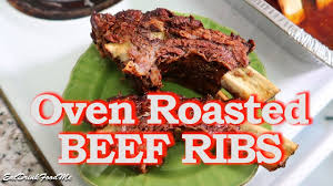 easy oven roasted beef ribs easy recipes eps 41 youtube