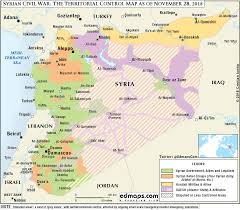 Map Of Syria And Israel by More Maps Of The Syrian Civil War A