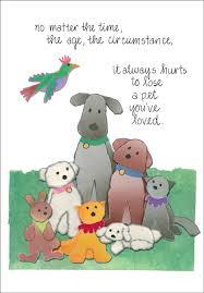 sympathy for loss of dog beautiful loss of pet cards it takes two inc