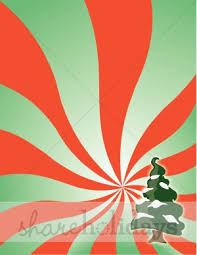 psychedelic red and green christmas pattern christmas backgrounds