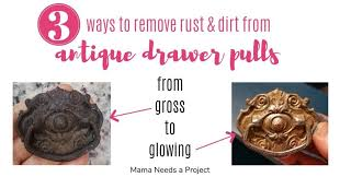how to clean metal cabinet handles 3 ways to clean antique drawer pulls needs a