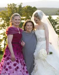 Wedding Dress Chelsea Olivia Femail Reveals Hillary Clinton U0027s 20 Worst Fashion Faux Pas From