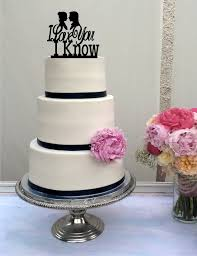 wars wedding cake topper wars inspired wedding cake topper i you i han